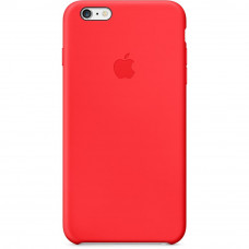 Силиконовый чехол Silicone Case OEM iPhone 6 Plus/6S Plus Red