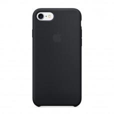 Силиконовый чехол Silicone Case OEM iPhone 7/8 Black
