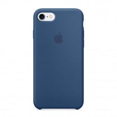Силиконовый чехол Silicone Case OEM iPhone 7/8 Blue