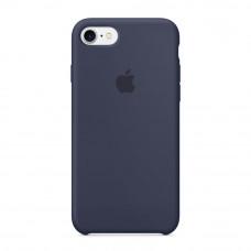 Силиконовый чехол Silicone Case OEM iPhone 7/8 Dark Blue