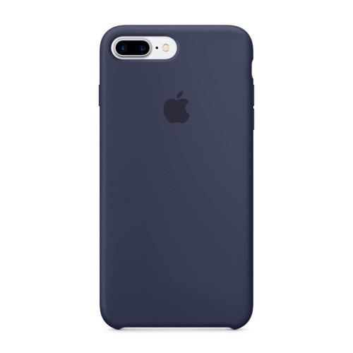 Купить Силиконовый чехол Silicone Case OEM iPhone 7 Plus / 8 Plus Midnight Blue