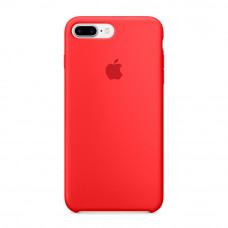Силиконовый чехол Silicone Case OEM iPhone 7 Plus / 8 Plus red