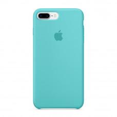 Силиконовый чехол Silicone Case OEM iPhone 7 Plus / 8 Plus Sea blue