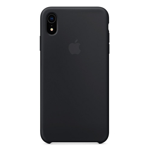 Купить Силиконовый чехол Silicone Case OEM iPhone XR Black