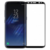 Защитное стекло Samsung G955 (S8+) Black 3D