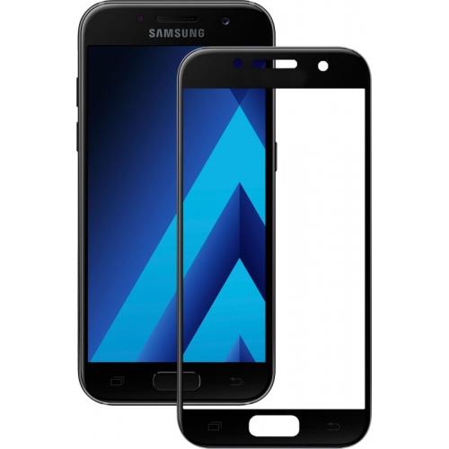 Купить Защитное стекло Samsung A720 Black Full Cover
