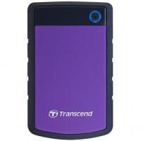 Transcend StoreJet 25H3P 4TB 5400rpm 8MB TS4TSJ25H3P 2.5 USB 3.0 External Purple