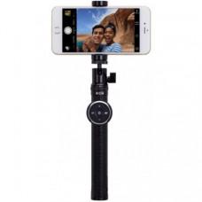 Телескопический монопод Momax Selfie Hero 90cm Bluetooth для селфи (KMS4D) Black