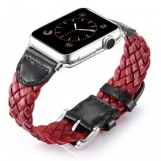 Ремешок Weave Buckle Band для Apple Watch 42mm Red
