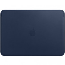 "Чехол Leather Sleeve для MacBook Pro 15"" (USB-C) Midnight Blue (MRQU2)"