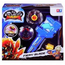 Волчок с пусковым устройством Auldey Infinity Nado Серия Атлетик Fiery Blade (YW624502)