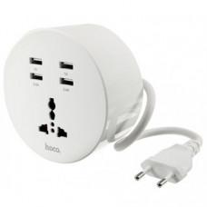 Сетевое зарядное устройство Hoco C17 4 USB