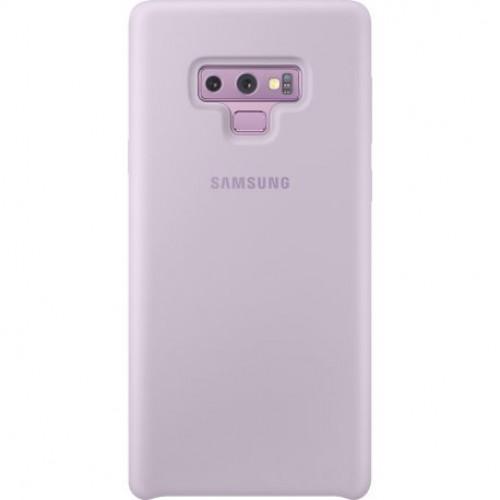 Купить Накладка Silicone Cover для Samsung Galaxy Note 9 Violet (EF-PN960TVEGRU)