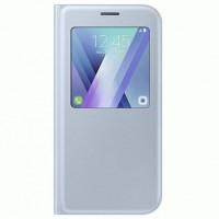 Чехол S View для Samsung Galaxy A7 (2017) Blue (EF-CA720PLEGRU)