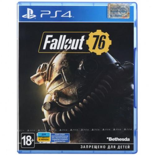 Купить Игра Fallout 76 для Sony PS 4 (русские субтитры)
