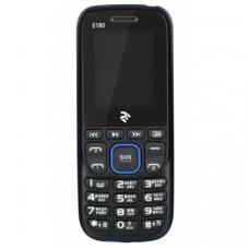 2E (TWOE) E180 Dual Sim Black-Blue