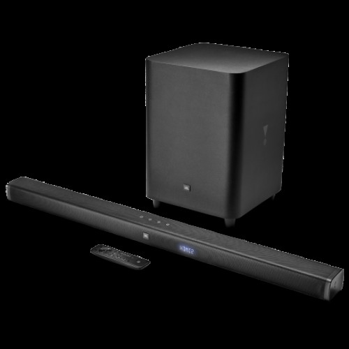 Купить JBL Bar 3.1 Channel 4K Ultra HD Soundbar with Wireless Subwoofer (JBLBAR31BLK)