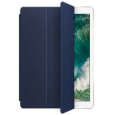 Обложка Apple Leather Smart Cover для iPad Pro 12.9 Midnight Blue (MPV22)