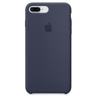 Чехол Apple iPhone 8 Plus/ 7 Plus Silicone Case Midnight Blue (MQGY2)