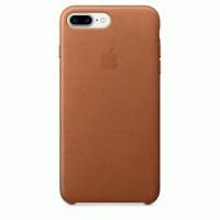 Чехол Apple iPhone 7 Plus Leather Case Saddle Brown (MMYF2)