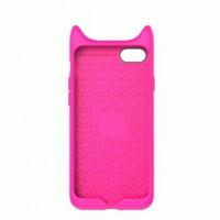 Накладка  Baseus Shield Case Little Devil для iPhone 7 Pink (ARAPIPH7-XM)