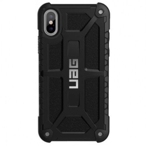 Купить Накладка Urban Armor Gear (UAG) для Apple iPhone X/XS Monarch Black (IPHX-M-BLK)