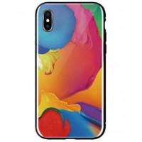 Чeхол WK для Apple iPhone XS (WPC-086) Paint Splash TR