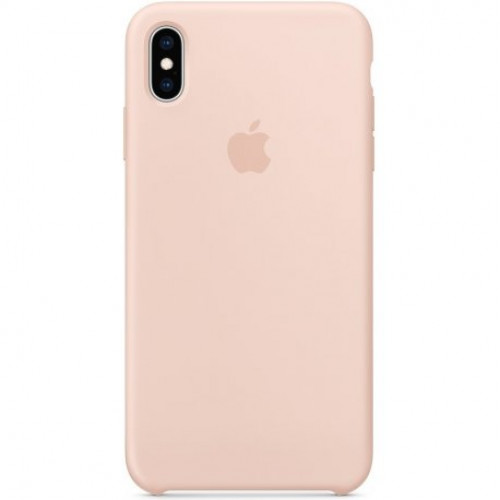 Купить Чехол Apple iPhone XS Max Silicone Case Pink Sand (MTFD2)