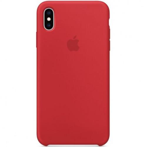Купить Чехол Apple iPhone XS Max Silicone Case (Product) Red (MRWH2)