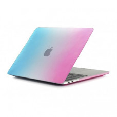 "Чехол для MacBook Pro 13"" (2015) Rainbow Blue-Pink"