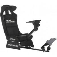 Игровое гоночное кресло Playseat Gran Turismo с креплением для руля и педалей Black (REG.00060)