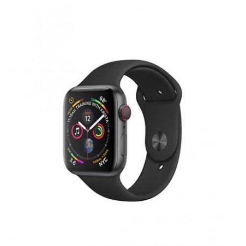 Купить Apple Watch Series 4 40mm (GPS+LTE) Space Gray Aluminum Case with Black Sport Band (MTVD2/MTUG2)