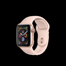 Apple Watch Series 4 40mm (GPS) Gold Aluminum Case with Pink Sand Sport Band (MU682)