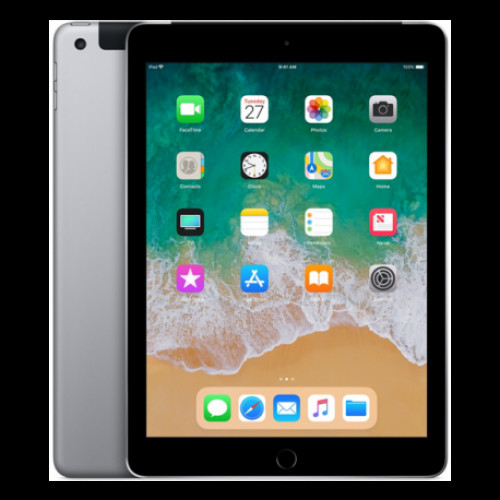 Купить Apple iPad 2018 9.7 32GB Wi-Fi + 4G Space Gray (MR6Y2)