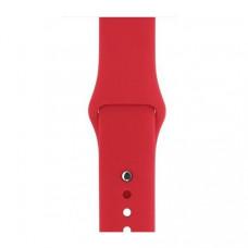 Спортивный ремешок Silicon Band для Apple Watch 42/44mm S/M&M/L 3pcs Red