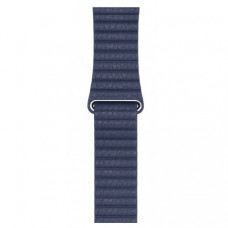 Ремешок Leather Loop для Apple Watch 38mm Blue