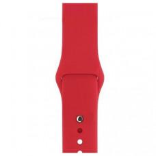 Спортивный ремешок Silicon Band для Apple Watch 42/44mm M/L 2pcs Red