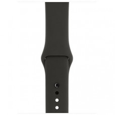 Спортивный ремешок Silicon Band для Apple Watch 42/44mm M/L 2pcs Charcoal Gray