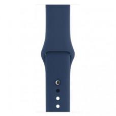 Спортивный ремешок Silicon Band для Apple Watch 42/44mm S/M&M/L 3pcs Blue Cobalt