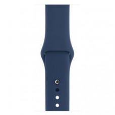 Спортивный ремешок Silicon Band для Apple Watch S/M&M/L 3pcs Blue Cobalt