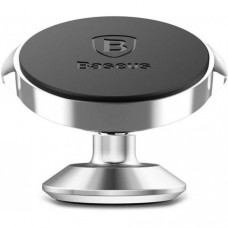 Автомобильный держатель Baseus Small Ears Series Magnetic Suction Bracket Vertical Type Silver