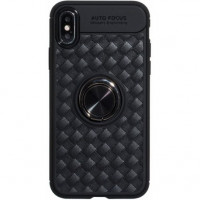 Чехол Doyers With Ring для Apple iPhone X/XS Black