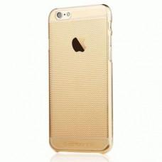 TPU накладка TOTU Air Cover для IPhone 6 Plus Gold