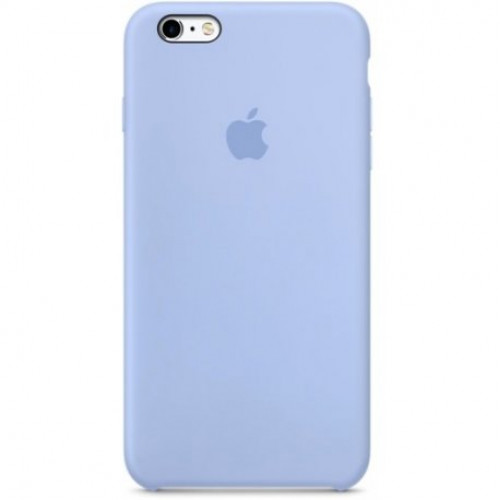 Купить Накладка Silicone Case для Apple iPhone 6 Blue