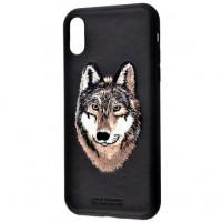 Чeхол Polo для Apple iPhone X/XS Savanna Iberian Wolf