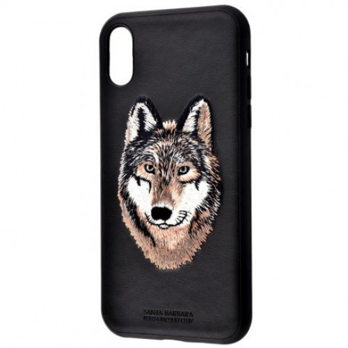 Купить Чeхол Polo для Apple iPhone X/XS Savanna Iberian Wolf