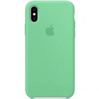 Чехол Apple iPhone XS Silicone Case Spearmint (MVF52)