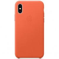 Чехол Apple iPhone XS Leather Case Sunset (MVFQ2)