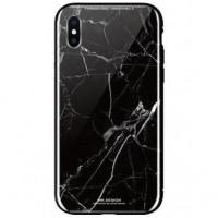 Чeхол WK для Apple iPhone XS (WPC-061) Marble BK/GR