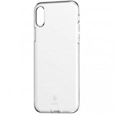 TPU накладка Baseus для Apple iPhone XS Simple Case Transparent